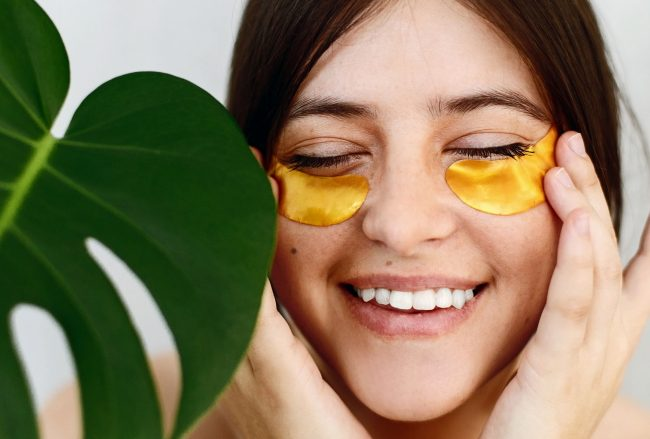 Make under eye patch
